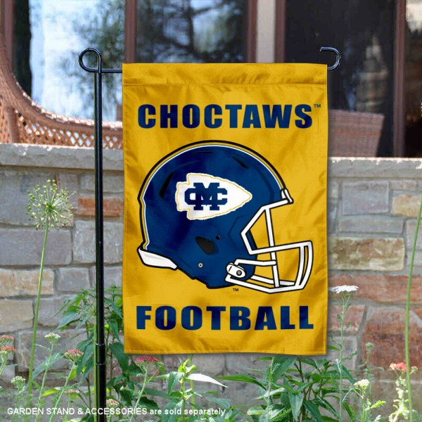 Mississippi College Choctaws Football Garden Flag