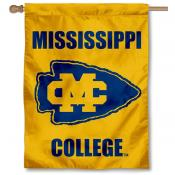 Mississippi College Choctaws House Flag