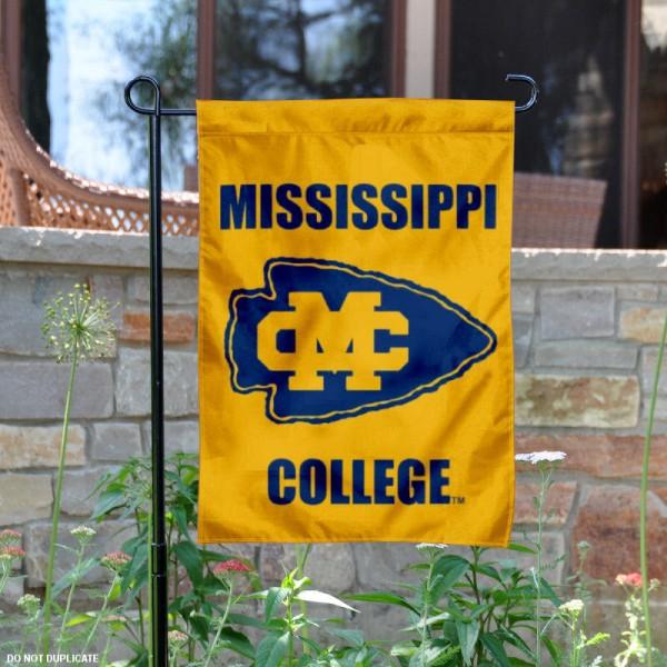 Mississippi College Garden Flag