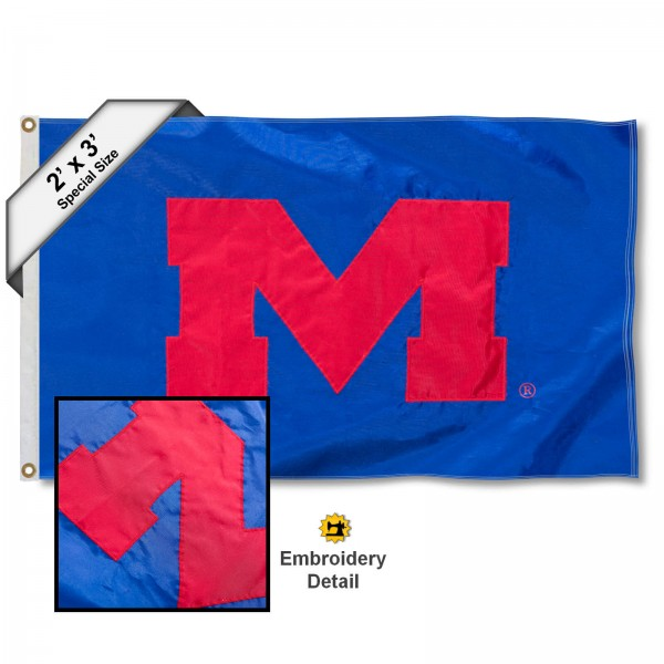 Mississippi Rebels 2x3 Flag