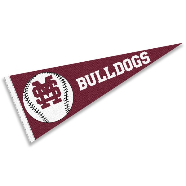 Mississippi State Bulldogs Baseball College Pennant