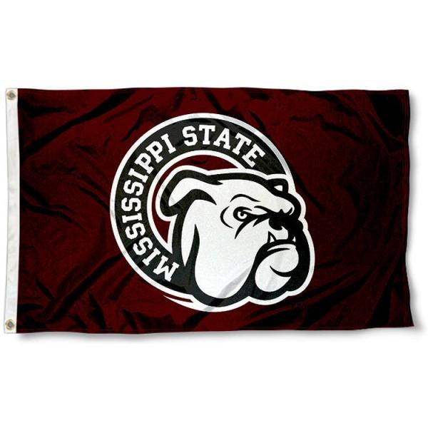 Mississippi State Bulldogs Flag