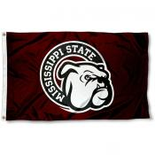 Mississippi State Bulldogs Flag