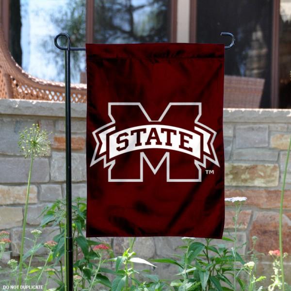 Mississippi State Bulldogs Garden Flag