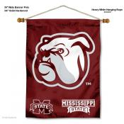 Mississippi State Bulldogs Logo Wall Hanging