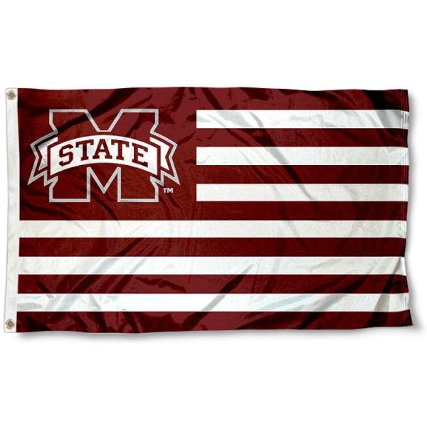Mississippi State Bulldogs Nation Flag