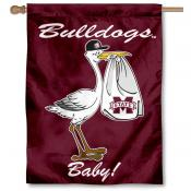 Mississippi State Bulldogs New Baby Banner