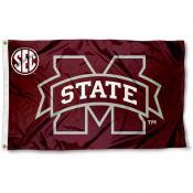 Mississippi State Bulldogs SEC Flag