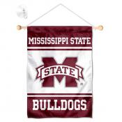 Mississippi State Bulldogs Window Hanging Banner with Suction Cup