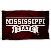 Mississippi State Script Logo Flag