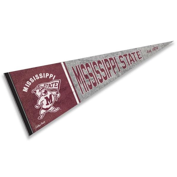 Mississippi State University Bulldogs Pennant