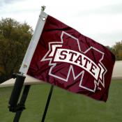 Mississippi State University Golf Cart Flag