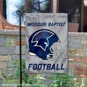 Missouri Baptist Spartans Football Garden Flag