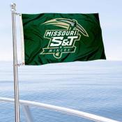 Missouri Miners Boat Nautical Flag