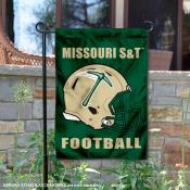 Missouri Miners Football Garden Flag