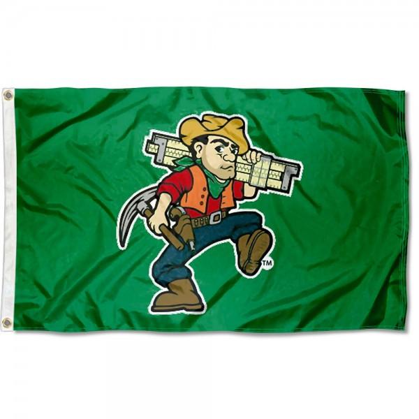 Missouri Miners Joe Miner Flag