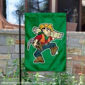 Missouri Miners Mascot Garden Flag