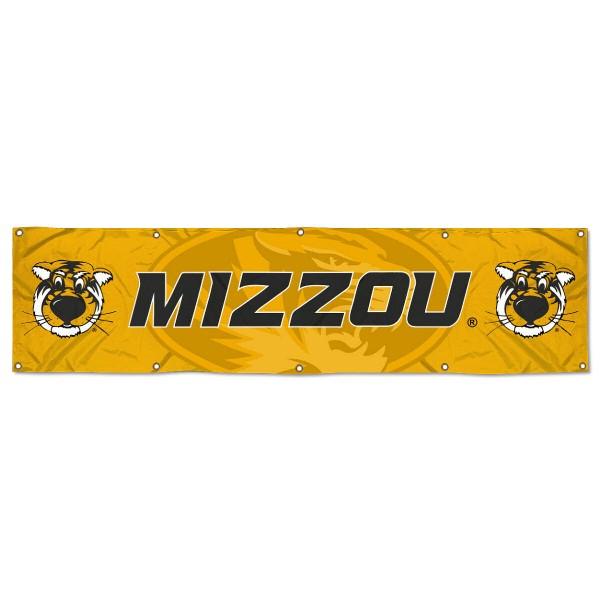 Missouri Mizzou Tigers 2x8 Banner