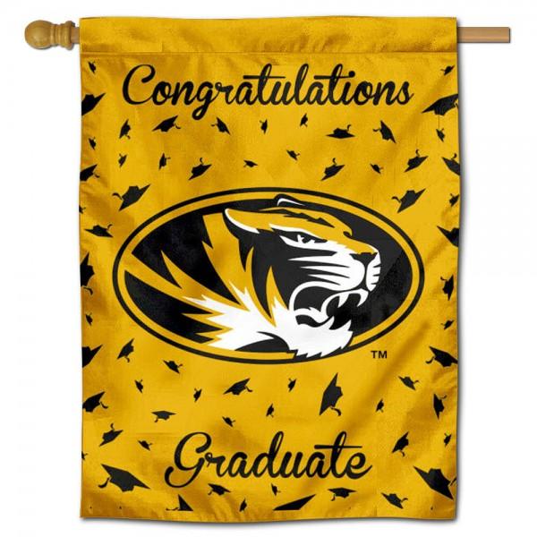 Missouri Mizzou Tigers Graduation Banner