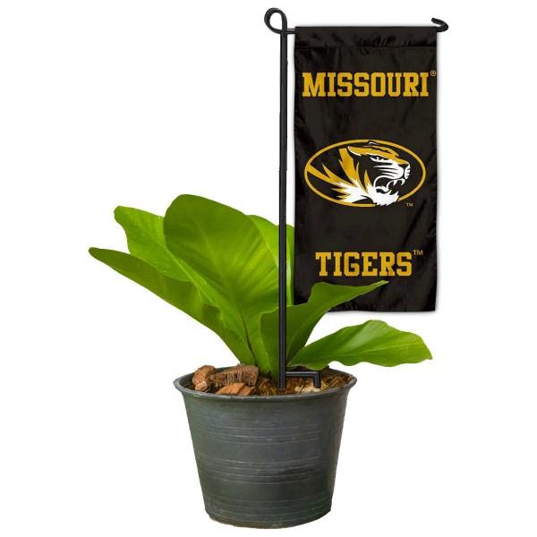 Missouri Mizzou Tigers Mini Garden Flag and Table Topper