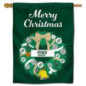 Missouri S&T Miners Christmas Holiday House Flag