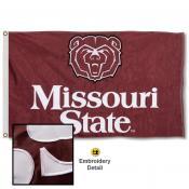 Missouri State Bears Appliqued Nylon Flag