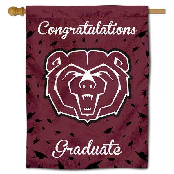 Missouri State Bears Graduation Banner