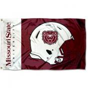Missouri State Bears Helmet Flag