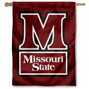 Missouri State Bears House Flag