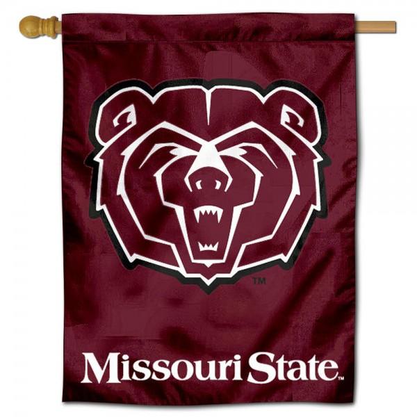 Missouri State Bears House Flag