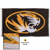 Missouri Tigers Appliqued Nylon Flag