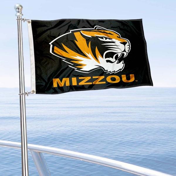 Missouri Tigers Boat Flag