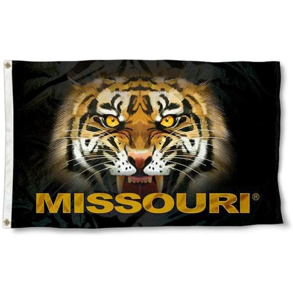 Missouri Tigers Eyes Flag