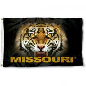 Missouri Tigers Eyes Flag