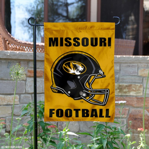 Missouri Tigers Football Garden Flag
