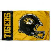 Missouri Tigers Helmet Flag