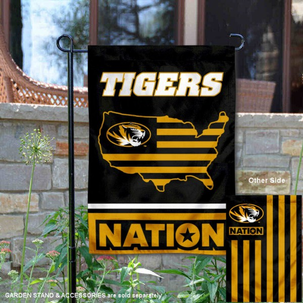 Missouri Tigers Nation Garden Flag