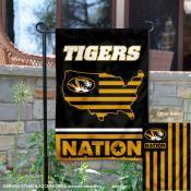 Missouri Tigers Nation Garden Flag