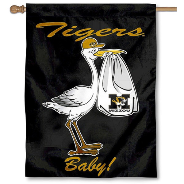 Missouri Tigers New Baby Banner