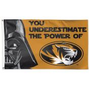 Missouri Tigers Star Wars Vader Banner Flag