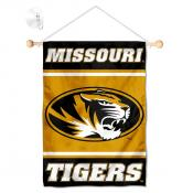 Missouri Tigers Window Hanging Banner with Suction Cup