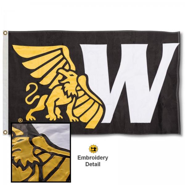 Missouri Western State Appliqued Nylon Flag