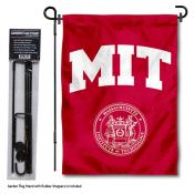 MIT Engineers Garden Flag and Holder