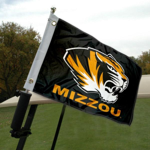 Mizzou Golf Cart Flag