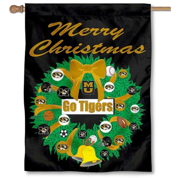 Mizzou Holiday Flag