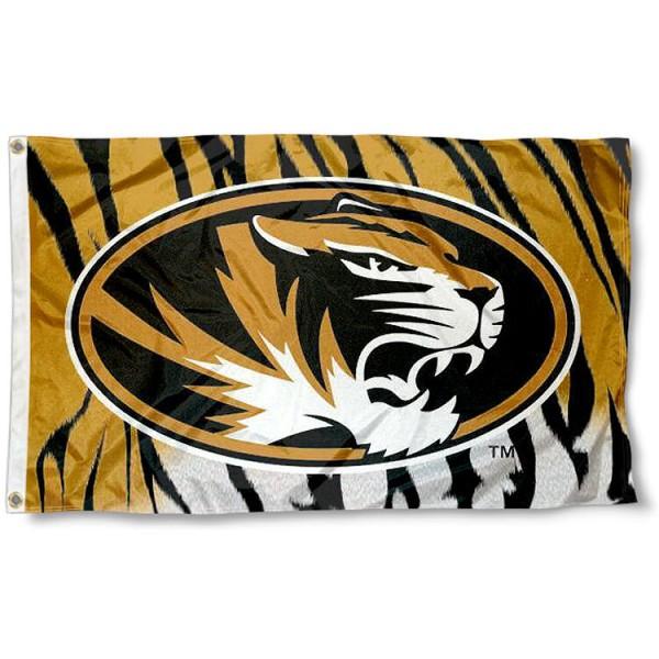 Mizzou Tigers Stripe Flag