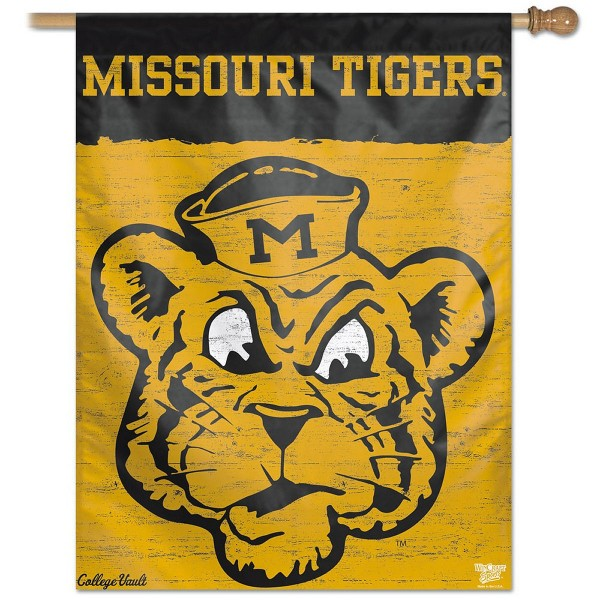 Mizzou Tigers Throwback Vintage House Flag