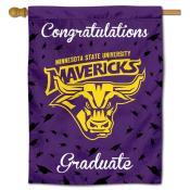 MN State Mavericks Graduation Banner