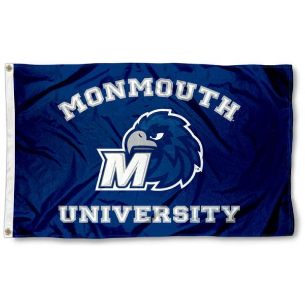 Monmouth Hawks College Flag