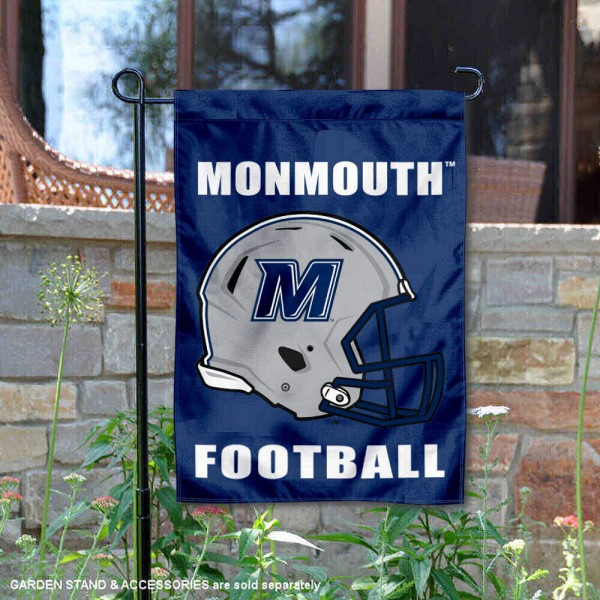 Monmouth Hawks Football Garden Flag
